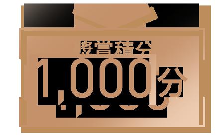 1,000獎賞積分